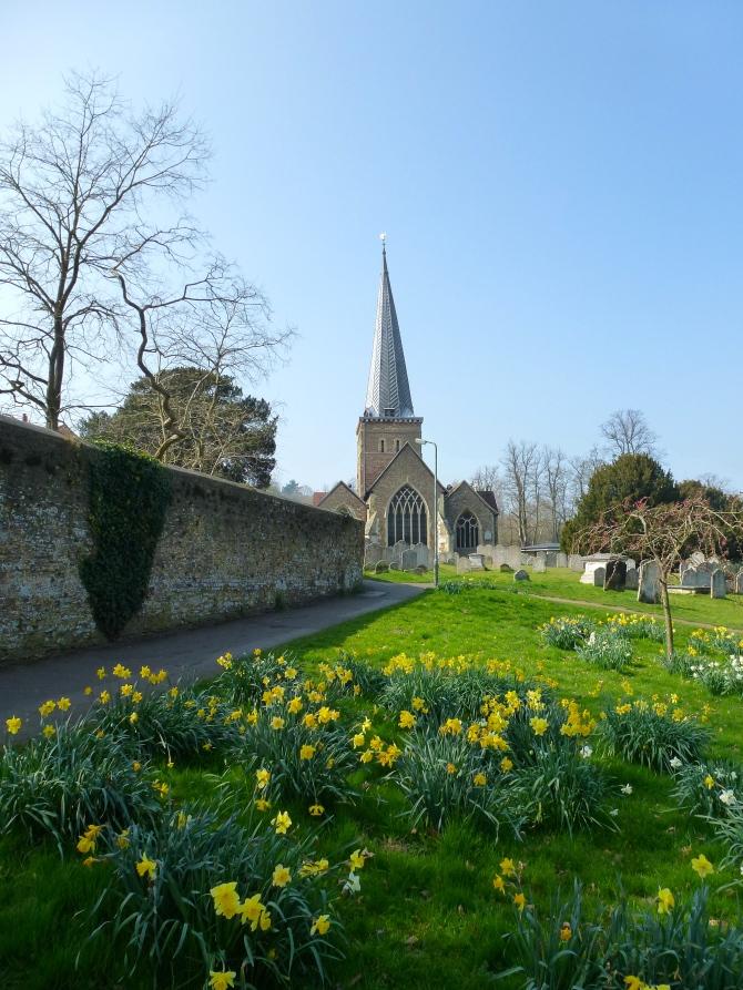 Godalming - parish church