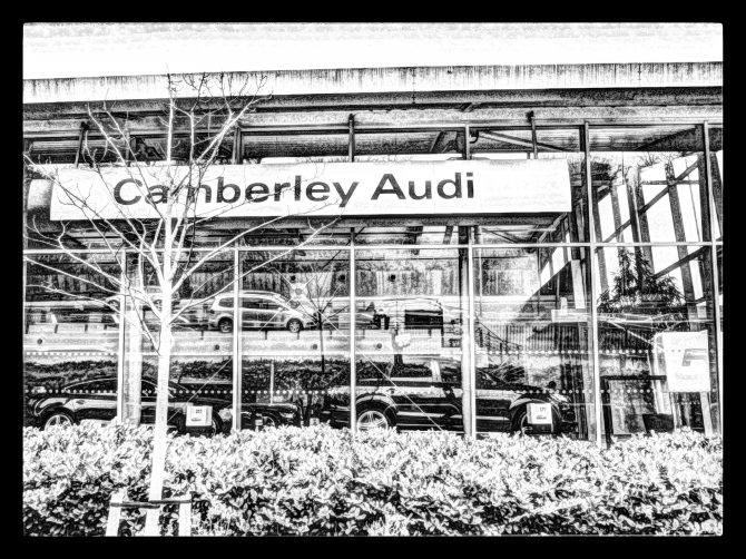 Camberley Audi showroom
