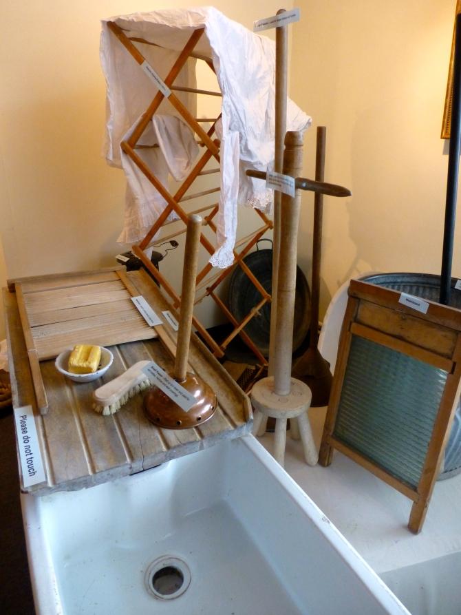 Museum exhibition - washing